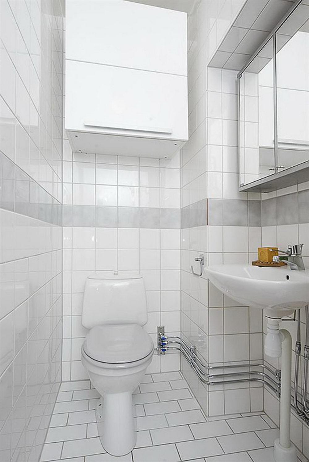 Simple Bathroom Decor - Easy Ways to Maintain White Bathroom Tiles ...