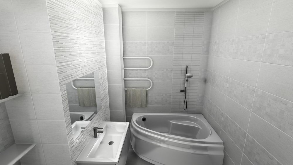 White Tile Bathrooms for Inspiration Ideas