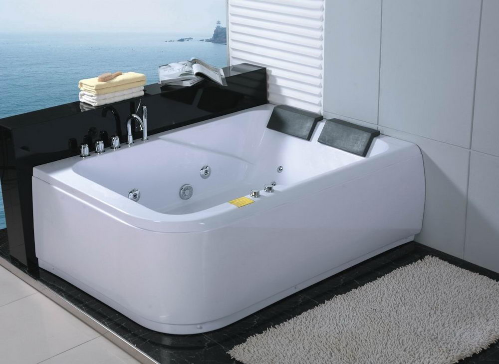 2 Person Bathtub Modern Decorations Full Size - Relaxing Bathing in ...