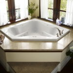 2 Person Rectangular Whirlpool Tub
