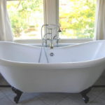 Acrylic Double Slipper Tub