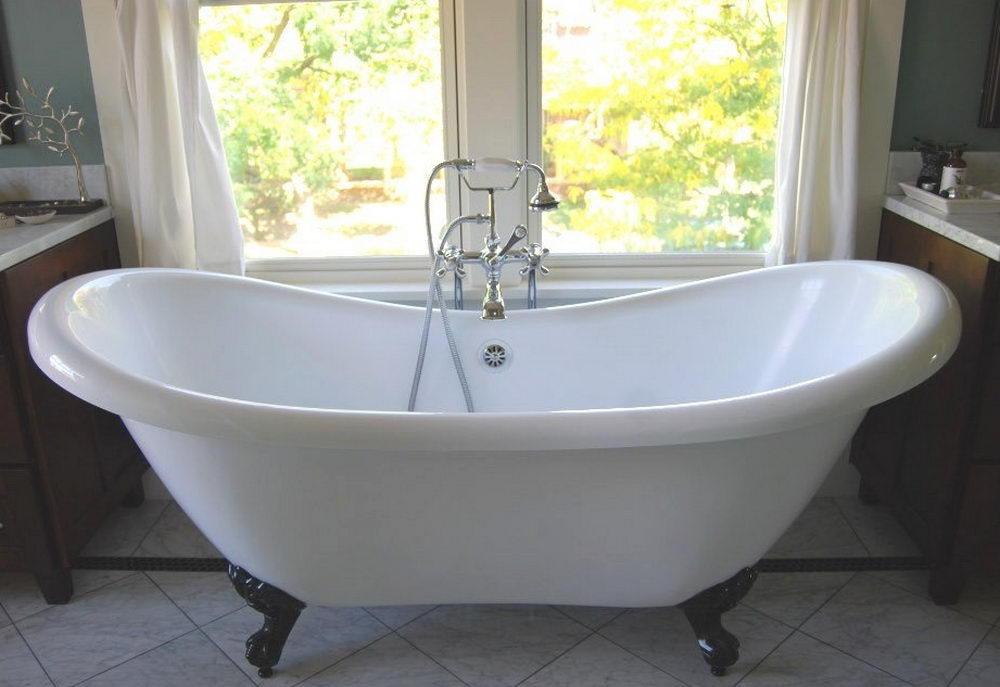 Acrylic Double Slipper Tub - Tips for Buying Acrylic Clawfoot Tub ...
