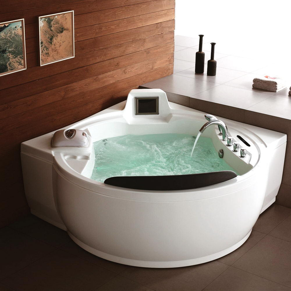 Attractive Luxury Whirlpool Bathtub - Top Benefits of the Soaker Tub ...