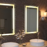 Bathroom Light Mirrors for Two