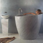 Bathtubs Made of Stone