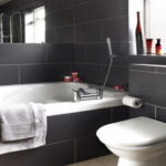 Large Black Tile