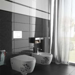 Black White Bathroom Tiles in Interior Design