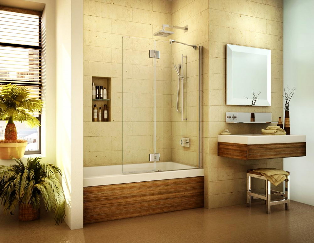 Brilliant Bathroom Shower Tub Ideas - Things to Consider Before ...