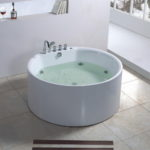 Cool Round White Walk in Baths Jacuzzi