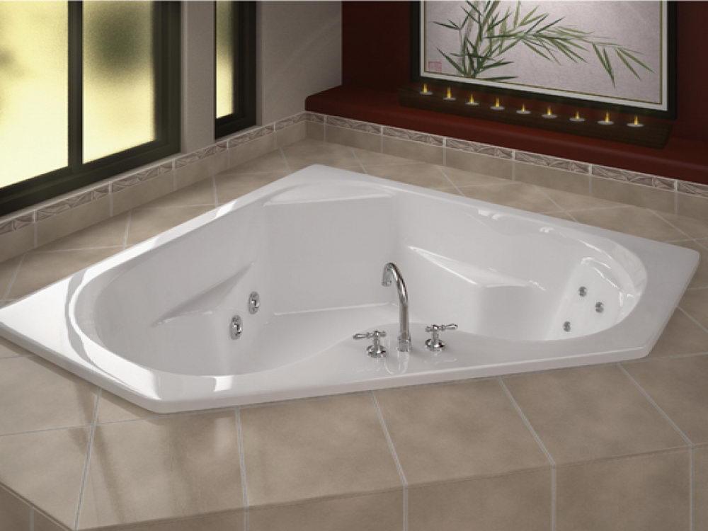 Corner Jacuzzi Tub Design Ideas