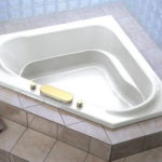 Fancy Perfect Corner Bathtub Design