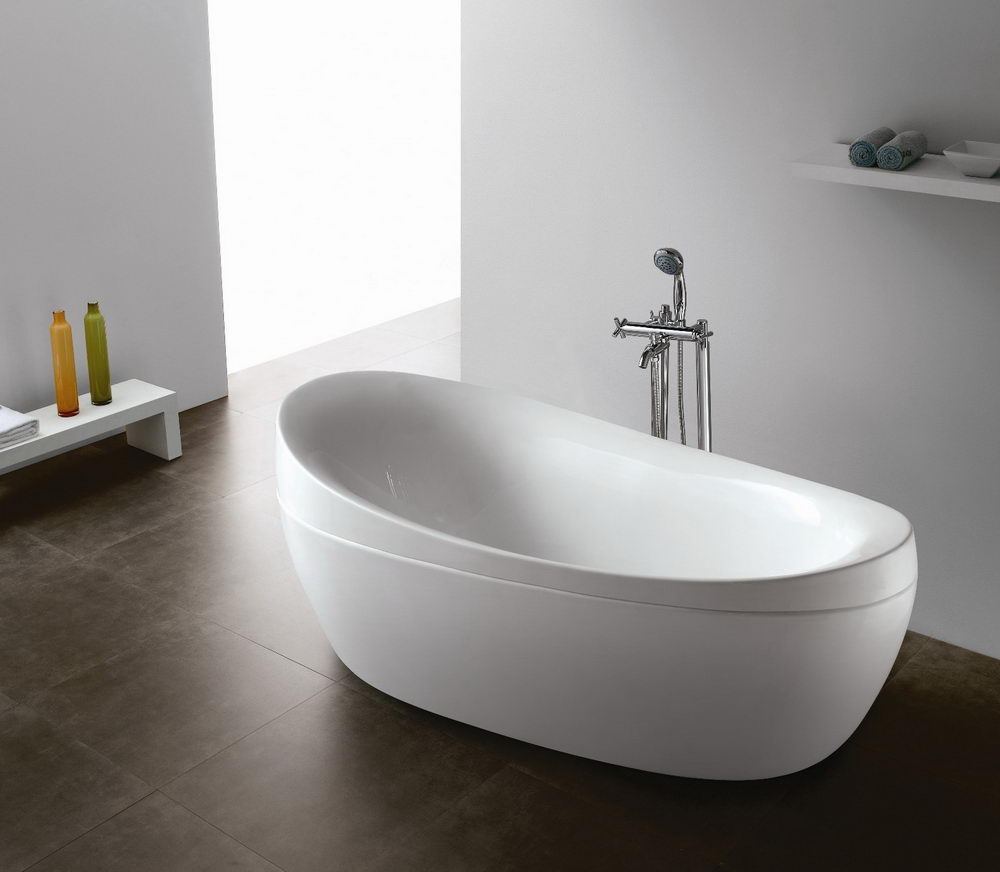 Different types of top modern bathtubs for Best freestanding tub material