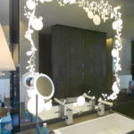 Functional Makeup Mirror with Lights