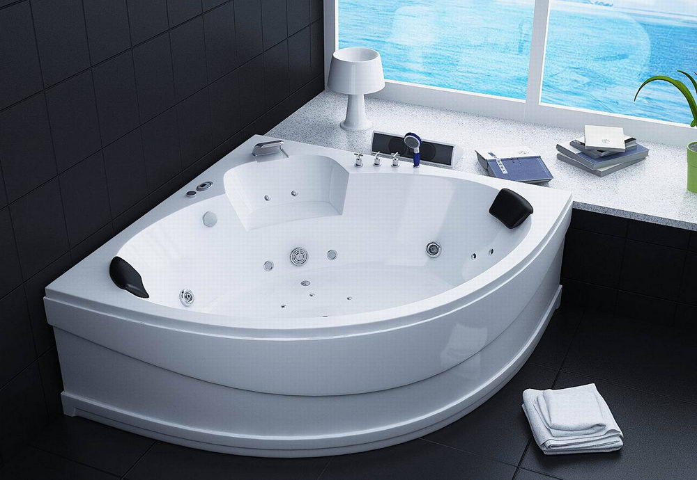 Jacuzzi bath spa pillows for bathtubs great design for Whirlpool tub sizes
