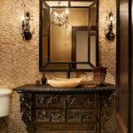 Large Black Irame Wall Mirror Idea Design