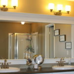 Love Framed Mirrors in the Bathroom