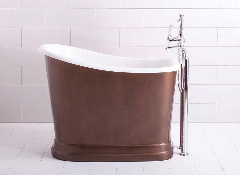 Short bath tubs buy born babies bath tub antique brass for Short bathtub length