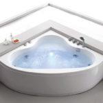 Mini Corner Bathtub