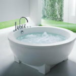 Mini Round Bathtub