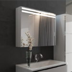 Mirror Cabinet for Bathroom with Light