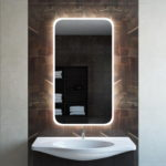 Mirror with Built in Backlight