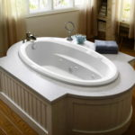 Modern Jacuzzi Tub Bathroom