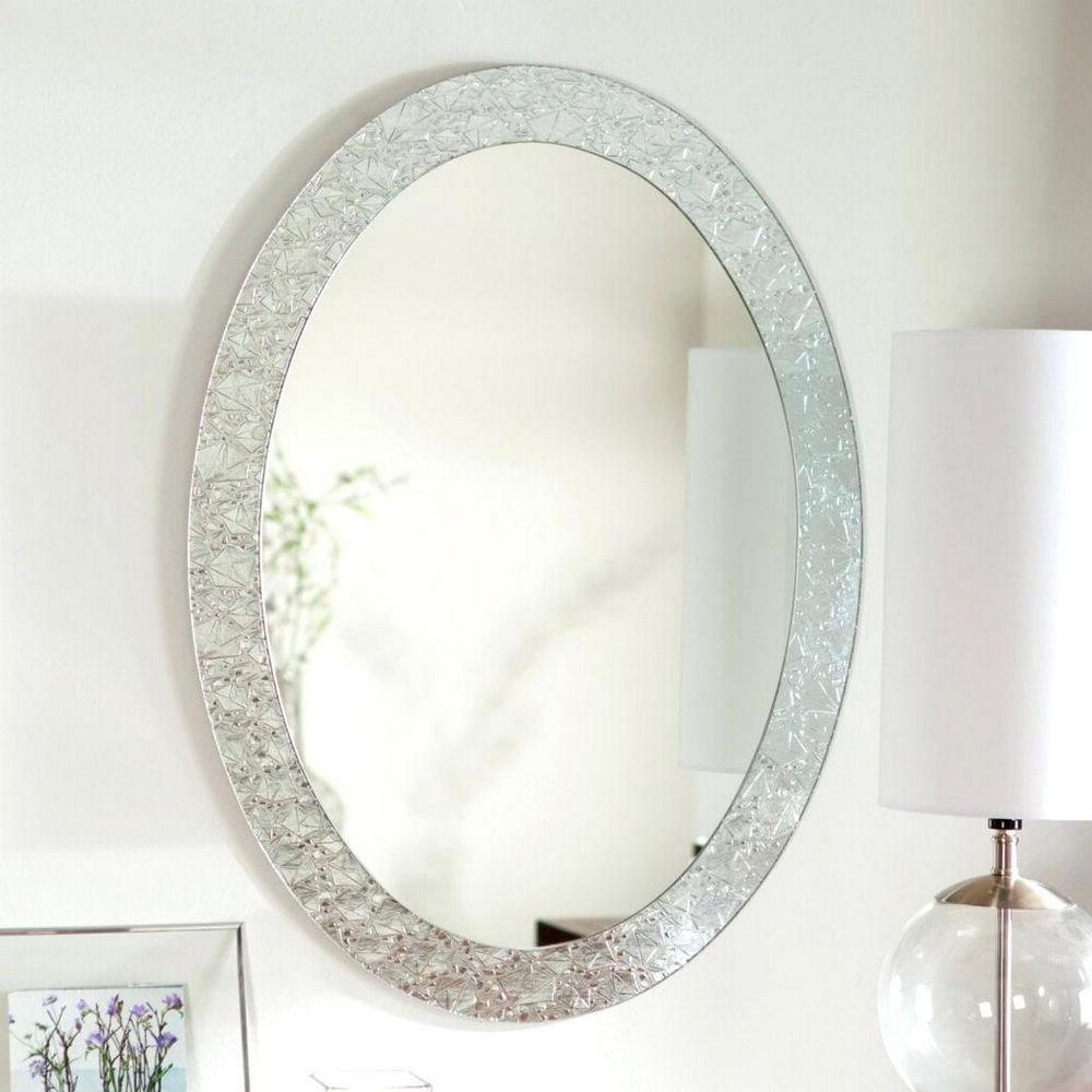 Modern Oval Bathroom Mirrors Decorative Bathroom Mirrors For A Thrilling Experience Decorideasbathroom Com Best Bath Ideas