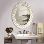 Oval Mirrors for Bathrooms freestanding electric fireplace sma