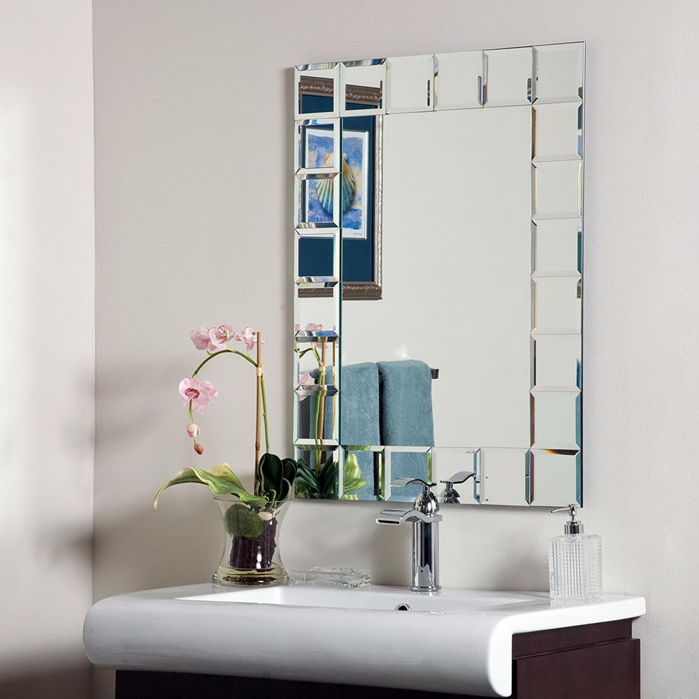 Perfect Modern Bathroom Mirrors - Decorative Bathroom Mirrors for a ...
