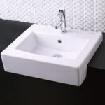 Semi Countertop Bathroom Sink