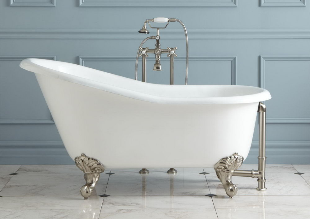 Tips for Buying Acrylic Clawfoot Tub - DecorIdeasBathroom.com | Best ...