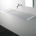 Solid Surface Single Washplane