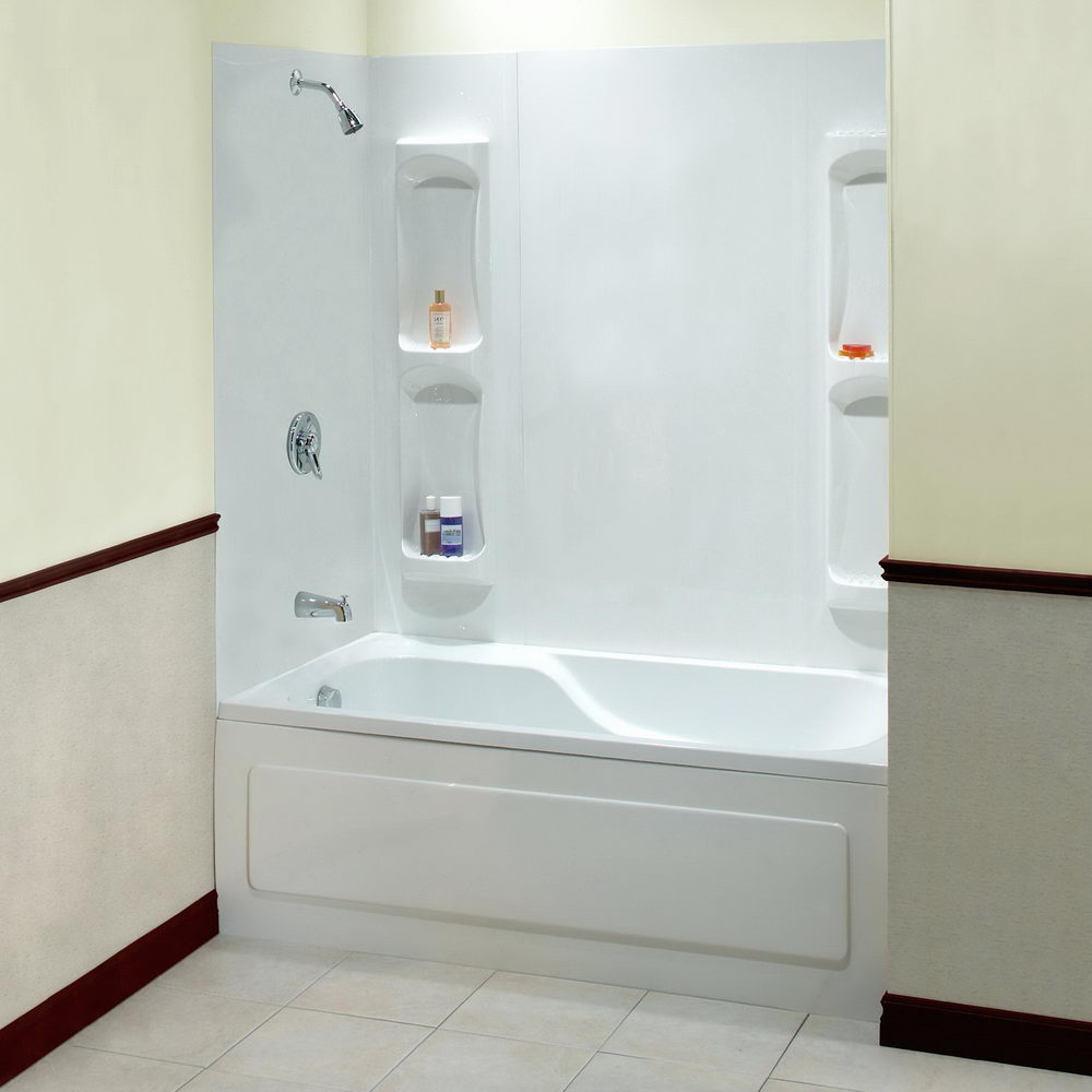Standard Bathtub Shower - Things to Consider Before Installing a ...