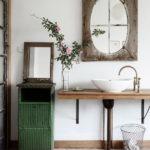 Vintage Bathroom Mirror Design Ideas