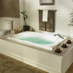 Whirlpool Bathtub with Faucet