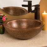 Bathroom Copper Vessel Sinks