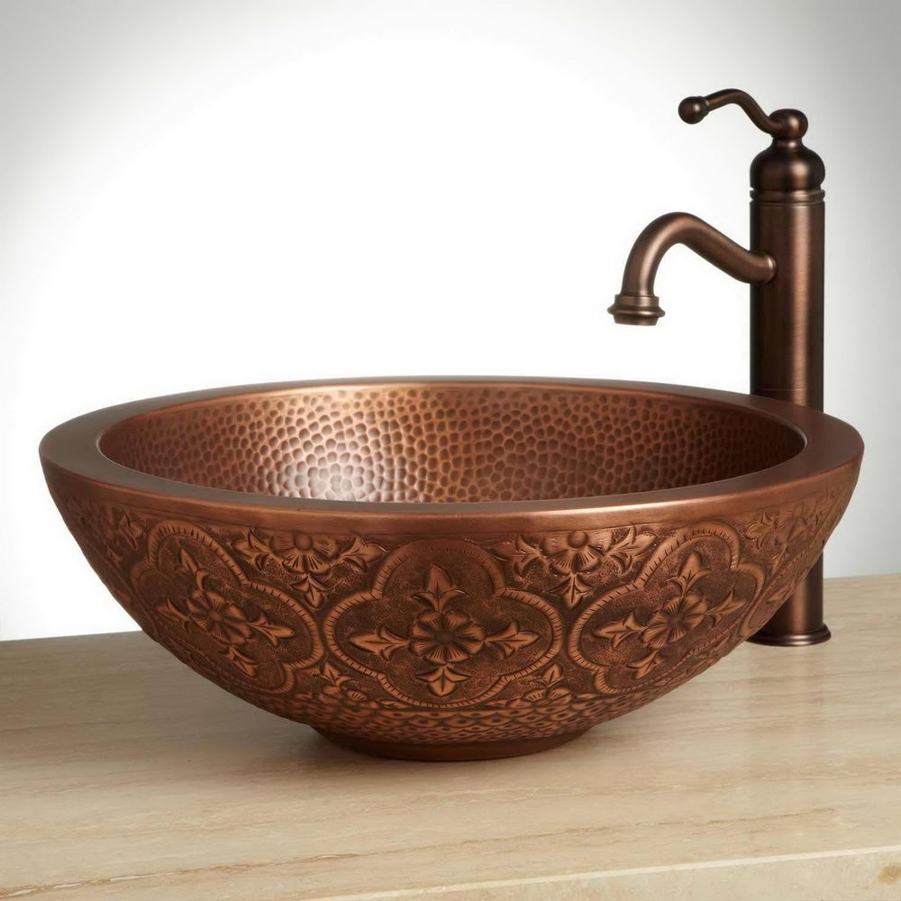 Attirant Tips For Selecting Right Bathroom Bowl Sink U2014 Copper Vessel Sink