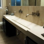 Extra Wide Undermount Bathroom Sink