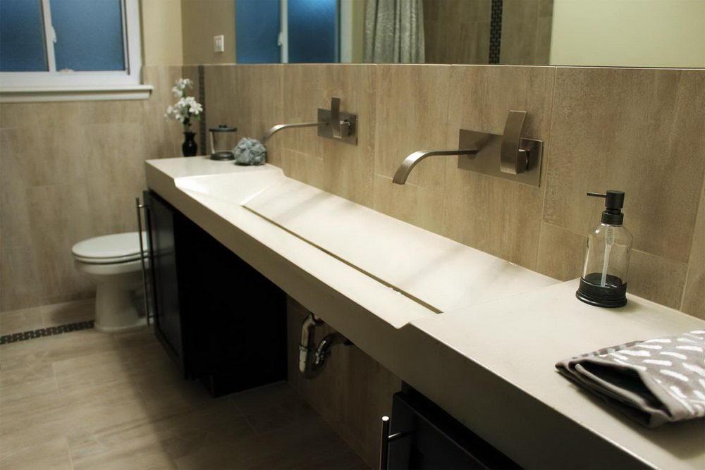 Admirable Extra Wide Undermount Bathroom Sink Dazzle Your Bathroom Beutiful Home Inspiration Xortanetmahrainfo