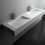 Long Narrow Bathroom Sink