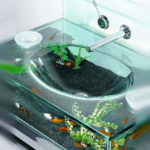 Modern Design Aquarium Sink