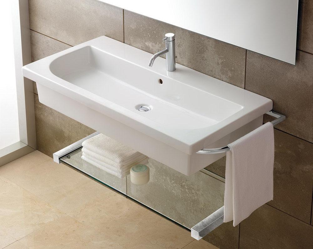modern wall mounted bathroom sink choosing the best narrow bathroom sinks decorideasbathroom