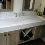 Sink for Large Areas
