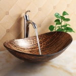 Unique Oval Vessel Sink