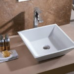 Bathroom Porcelain Vessel Vanity Sink