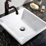 Modern Contemporary Bathroom Vessel Sink