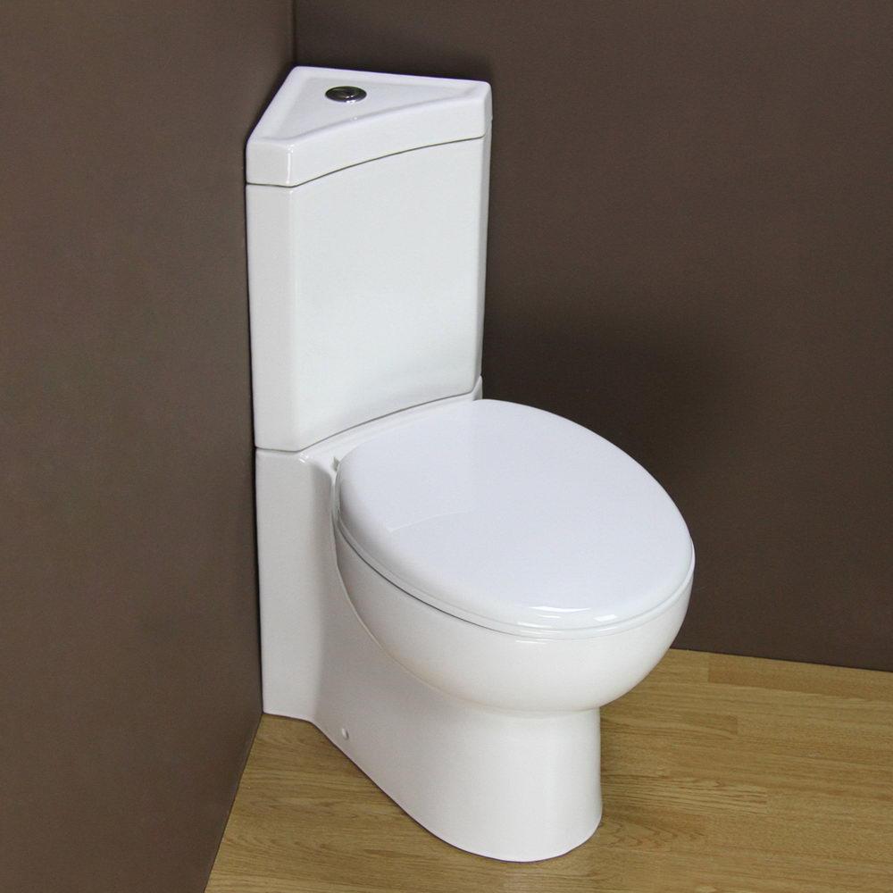 Close Coupled Corner Toilet