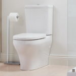 Elegant Square Closed Coupled Toilet