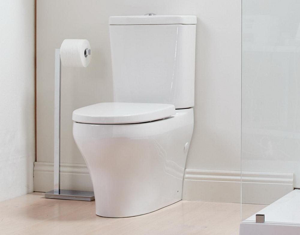 Elegant Square Closed Coupled Toilet
