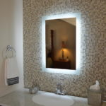 Frameless Bathroom Illuminated Mirror